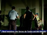 Emeutes à La Réunion: troisième nuit d'affrontements