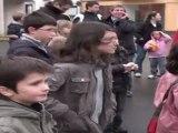 TELETHON 2011 : 25 ans de Téléthon en balles de Ping Pong et lacher de ballons à Andouillé (Mayenne-53)
