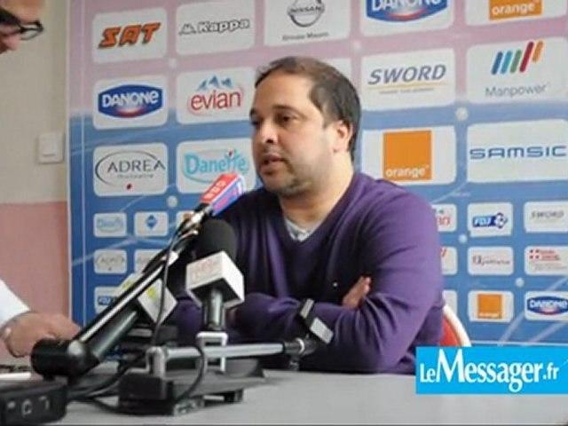 ETG FC : Pablo Correa et Cédric Barbosa évoquent la réception de Nancy (vidéo)