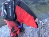 Jump4Heroes BASE Jumping from The Eiger in Switzerland