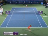Goerges batte Wozniacki - Dubai, semifinale