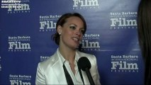 Bernice Bejo Star Celeb Interview The Artist Movie Celebrities 2012 SBIFF