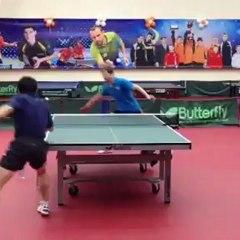 UMMC - Levallois : entraînement Chuang - Rubstov