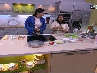 Pain Semoule et Gâteaux aux Pommes et fruit secs