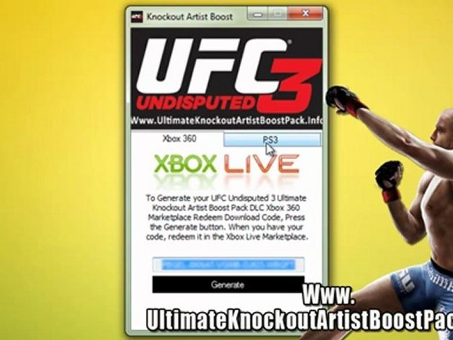 Download Ufc Undisputed 3 Ultimate Knockout Artist Boost Pack Dlc Free Video Dailymotion