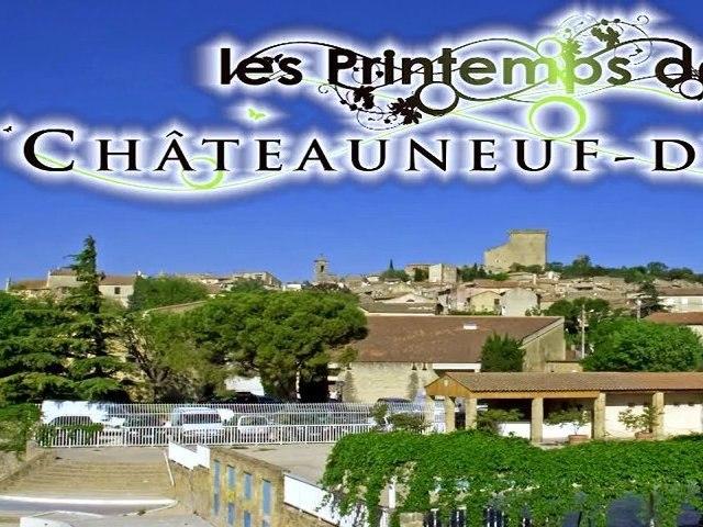 Les Printemps de Chateauneuf du Pape : Atelier Mets & vin par Mathieu Vignal