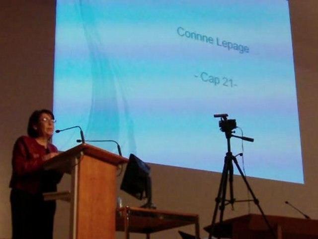 Questions à Corinne Lepage sur les jeunes chercheurs et le doctorat