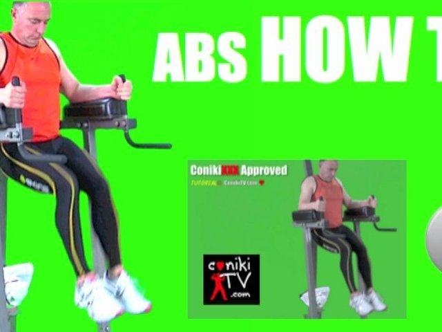 HOW TO ABDOMINAL LEG RAISES ConikiXXX Workout