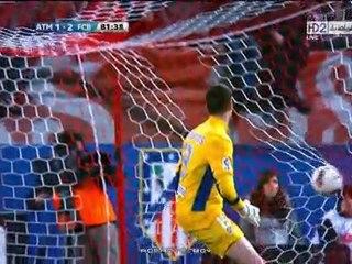 Atletico Madrid  Barcelona messi gol