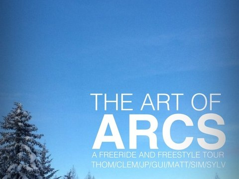 The Art of Arcs - FreeRide Les Arcs 2011