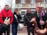Beugnies pose du nouveau coq le 26 février 2012
