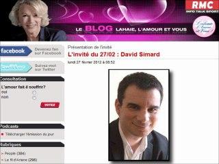 RMC - Lahaie, l'amour et vous du 27/02/2012 avec David Simard