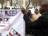 manifestation du Collectif des sans papiers des Hauts-de-Seine
