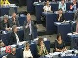 Jean-Marie Lepen - Provocation au parlement européen
