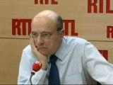 """Alain Juppé, ministre français des Affaires étrangères : """"La France va maintenir la pression sur le régime syrien"""""""