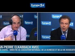 Luc Chatel l'invité politique d'Europe 1 le 28 février 2012