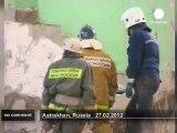 Russie : un immeuble détruit par une... - no comment