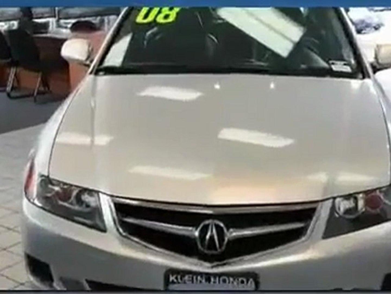 USed Honda 2008 Acura TSX Lynnwood for Sale at Klein Honda