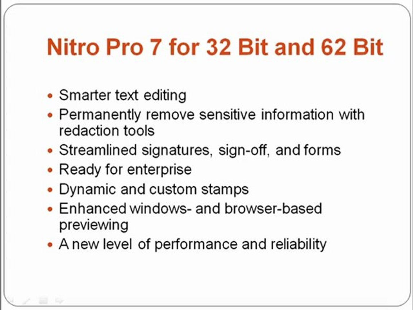 Nitro Pro 7 for 32 and 64 Bit FREE Full Version 100% Working