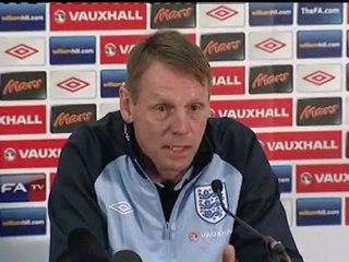 Stuart Pearce on the England captain