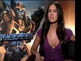 Megan Fox & Shia LaBeouf Talk Transformers DVD Highlights