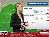 Les Prévisions Météo du 29 février 2012 (Lille)