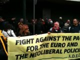 Συνδικαλιστικά στελέχη στα γραφεία της Αντιπροσωπείας της Ευρωπαϊκής Ένωσης
