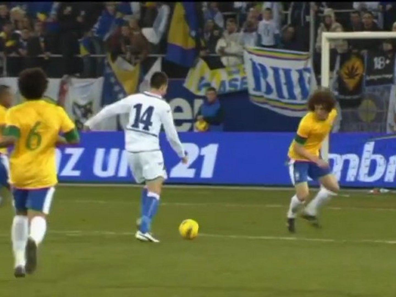 Amistoso - Brasil 2-1 Bosnia
