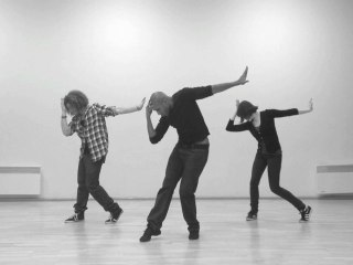 Flashmob Sidaction Poissy 2012, chorégraphie avec Loup-Denis ELION