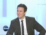 Guillaume Peltier invité de la rédaction de TV Tours
