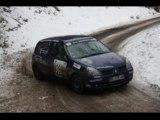 camera embarque rallye hivernal des hautes alpes 2012 clio n°39