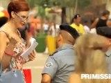 Intervista al regista Baldi e alle attrici Schiavo e Adriani del film Faccio un salto all'Avana
