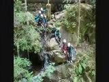 canyoning avec Auvergne loisirs : canyon proche de Clermont ferrand, Lac Chambon, Besse. +d'info : www.auvergneloisirs.com