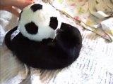 Bretzel le bébé vison américain avec son ballon juin 2010 / my baby pet mink