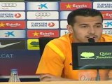 Pedro aboga por la renovación de Guardiola y por la esperanza de jugar la Eurocopa