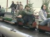 Echtdampftreffen  Sinsheim 2009 Rundgang über einen Teil der fünf Zoll Anlage 002 Teil 01 von 02
