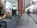 Echtdampftreffen  Sinsheim 2009 Rundgang über einen Teil der fünf Zoll Anlage 002 Teil 02 von 02