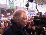 SIA 2012 : Dominique De Villepin évoque la campagne... politique