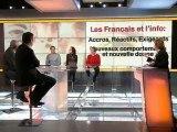 VOTRE TELE ET VOUS / FRANCE 3 LE 28/02/12 / BONUS INTERNET :  LES FRANÇAIS et l'INFO : ACCROCS, REACTIFS, EXIGEANTS, NOUVEAUX COMPORTEMENTS, NOUVELLE DONNE