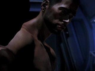 Mass Effect 3 -  Shepard Gay Sex Scene