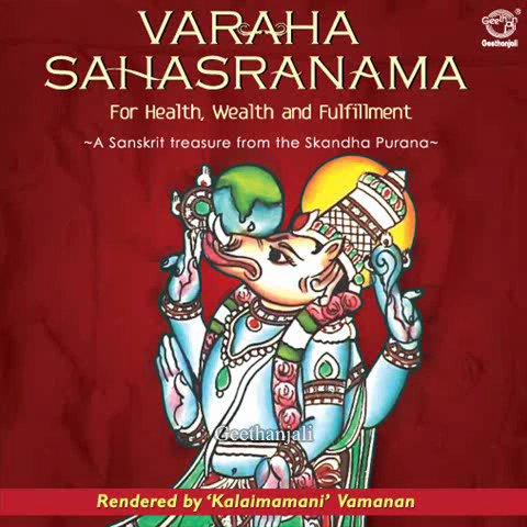 Varaha Sahasranama — Sanskrit Spiritual
