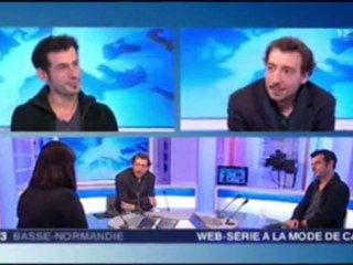 Making Of - Interview sur France 3 (02-03-2012)