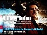 Jimmy Guieu & Serge de Beketch - émission N°2 (Radio Courtoisie, 18/11/1992)