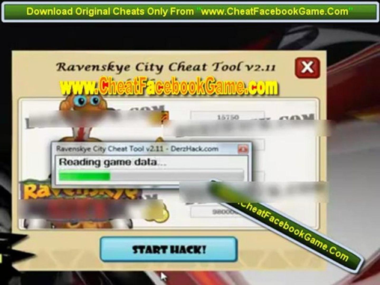 ravenskye city cheat tool v2.11