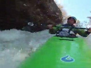 Eric Deguil Champion du monde de kayak extrême 2011
