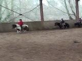 Équitation - poney games au centre équestre du moulin du Goutay dans le 87 en Limousin