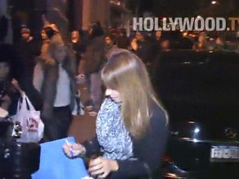 Lindsay Lohan, Dina Lohan, Seth Meyers, Jill Zarin en Kibo Japanese Grill