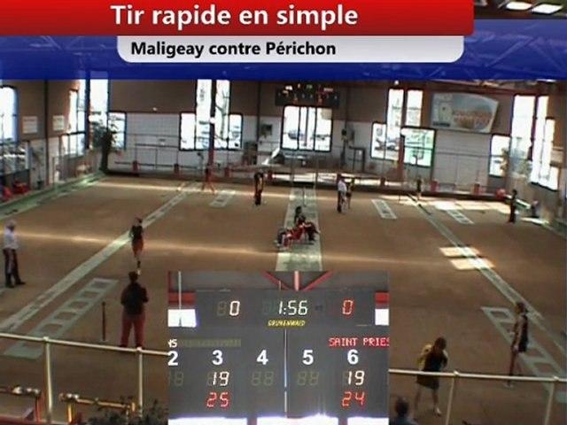 Tir rapide en simple, J12 CS EF Saint-Priest contre Nyons