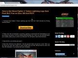 unlock Street Fighter X Tekken Lightning Legs Gem Pack Free Xbox 360 / PS3