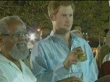 Prince Harry drinks rum and parties during Royal tour